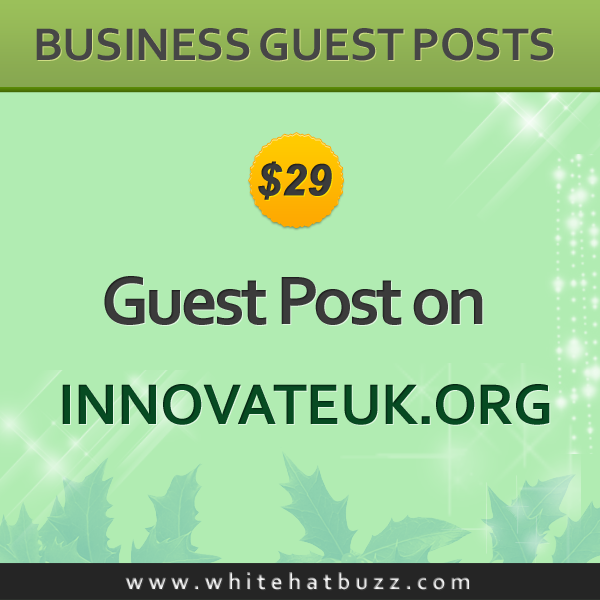 Guest Post on innovateuk org